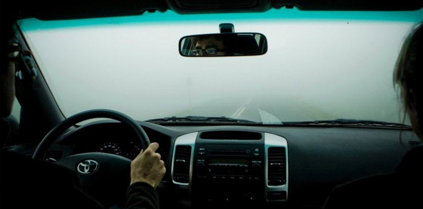 visibility while driving
