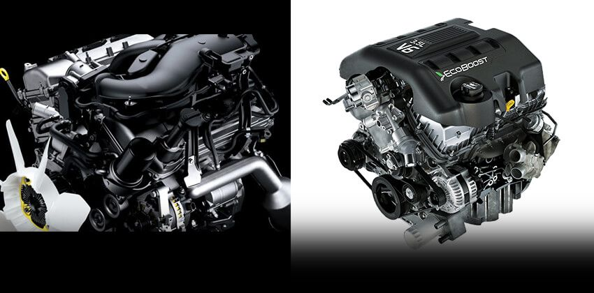Toyota Fortuner vs Ford Explorer - Engine