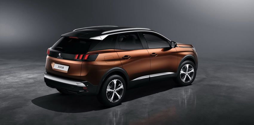 all-new Peugeot 3008 rear