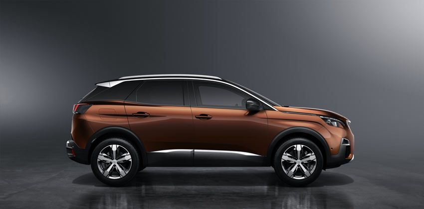 all-new Peugeot 3008 side